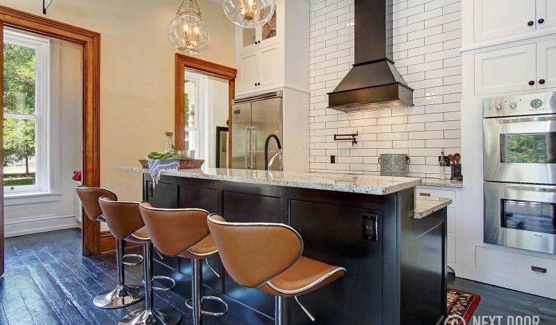 historic home with renovated kitchen