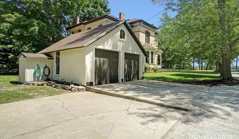 historic home with garage